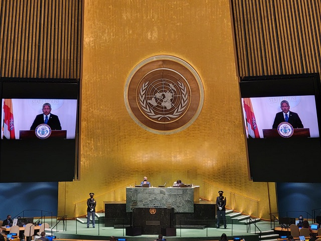 Seychelles' President tells UN General Assembly: Leave no one behind