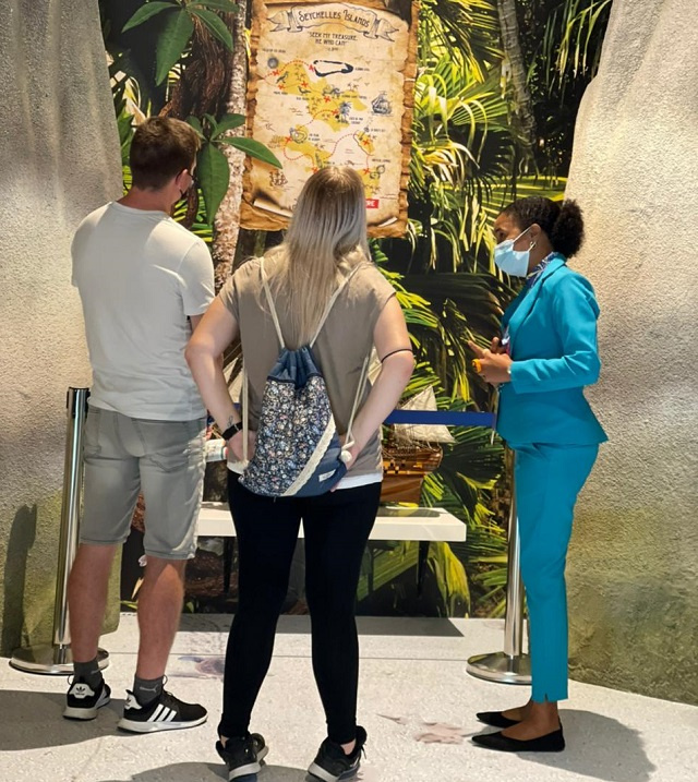 Seychelles' pavilion at Dubai Expo welcomes thousands of potential island visitors