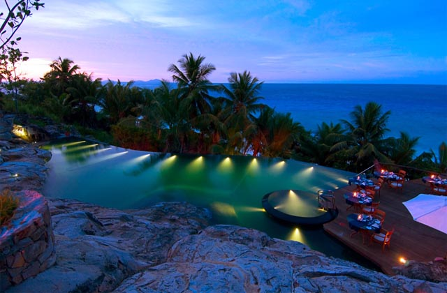 From weeds to a royal honeymoon north island seychelles revealed pool blending with nature at fregate island private fregate photo lisence all rights reserved sisterspd