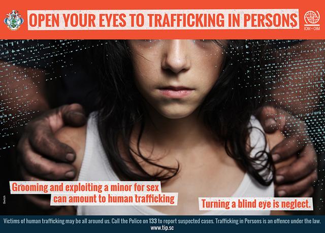 media articles on human trafficking