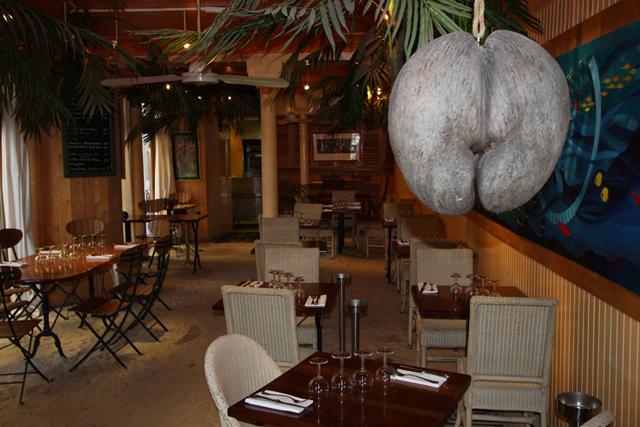 Restaurant Paris Sable Par Terre