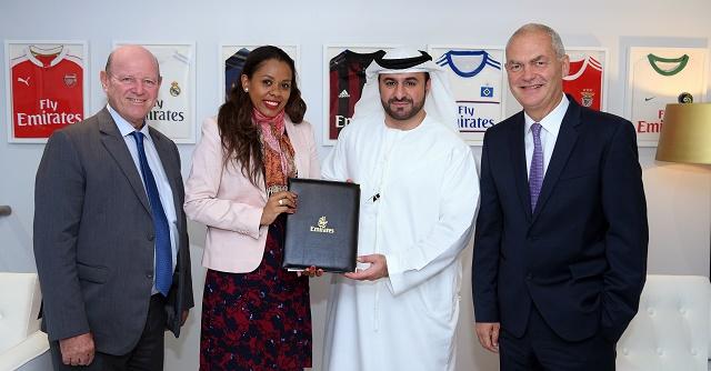 La compagnie a rienne emirates renouvelle son engagement promouvoir l attractivit des - Office de tourisme des seychelles ...