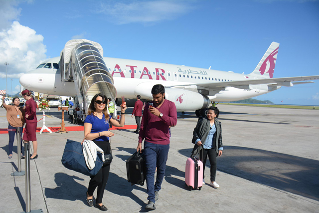 Qatar airways returns to seychelles with daily flights seychelles qatar airways is the latest of several international carriers adding seychelles to their network or expanding their service to the island nation stopboris Image collections