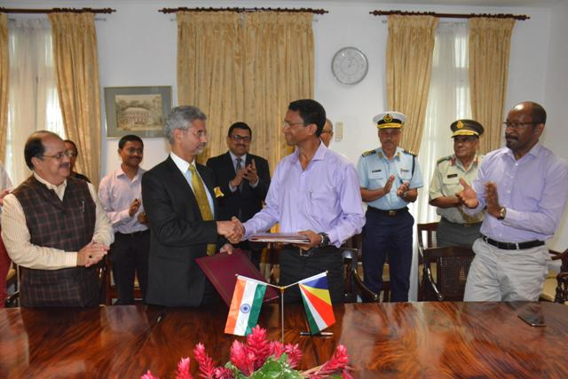 India, Seychelles sign revised agreement for development of Assomption