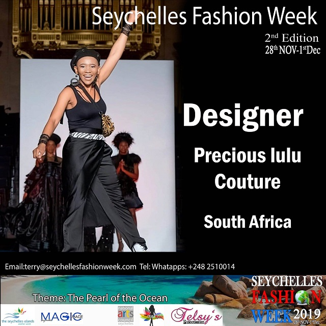 6 Designers From South Africa Who Will Be Featured At Seychelles Fashion Week Seychelles News Agency